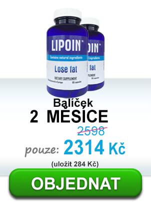 2 láhve pilulky na hubnutí a tavení s nadváhou - Lipoin dosáhl 2 měsíc + propagační odkazoval jejich ceně – 1382CZK